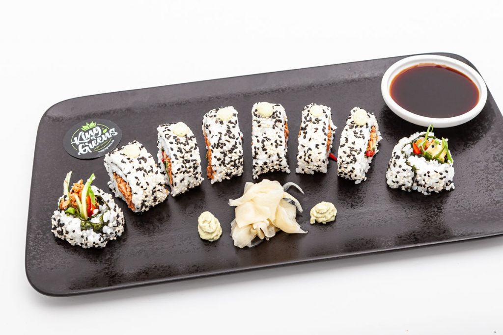 Sushi im Veganen Restaurant