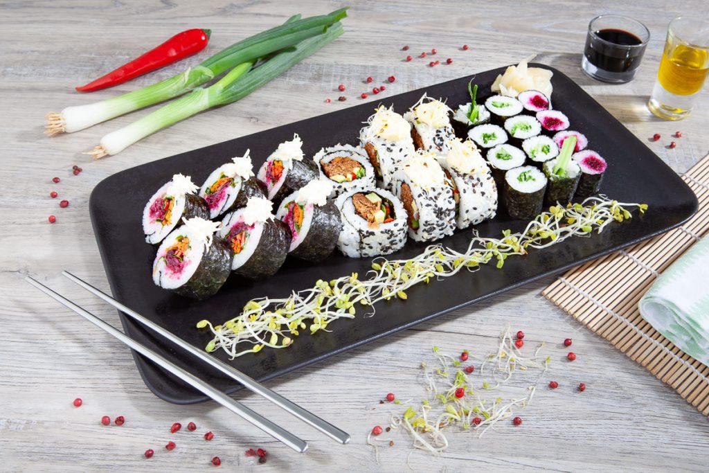 Vegan Sushi Bento