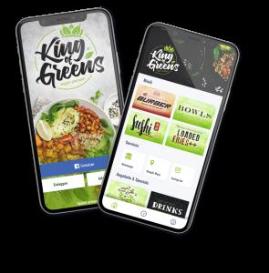 Smartphone App Vegan Restaurant Leonberg